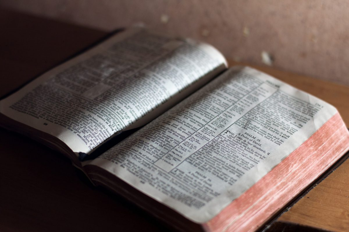 Lectionary commentaries picture of a Bible