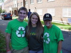 Muhlenberg's Green Team Promotes Smart Recycling Practices
