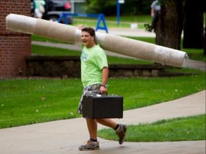 Waste Reduction Efforts for Luther College Move Out Take Shape (2016)