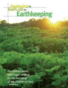 Awakening to God's Call to Earthkeeping